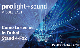 Visit Us at Prolight + Sound Middle East